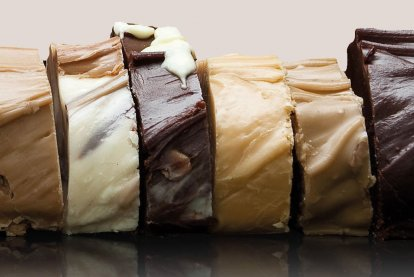 Vegan Slab Fudge
