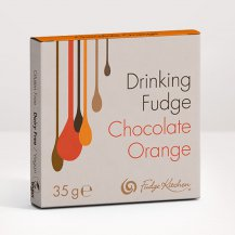 Chocolate & Orange Drinking Fudge Sachet